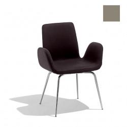 Chaise design Light, Midj gris clair
