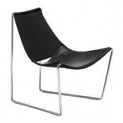 Chaise lounge Apelle AT, Midj noir