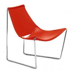 Chaise lounge Apelle AT, Midj rouge