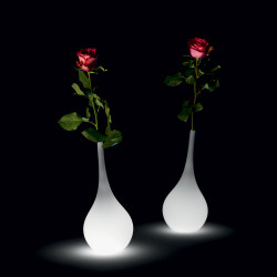 Vase lumineux Ampoule, MyYour lumineux blanc Taille XL Indoor