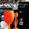 Déco Tulip design, Myyour orange Taille S Mate