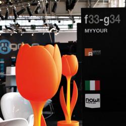 Déco Tulip design, Myyour orange Tulip XL mate