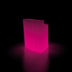 Elément d\'angle Bar design Frozen, Plust blanc Lumineux LED RGB fil