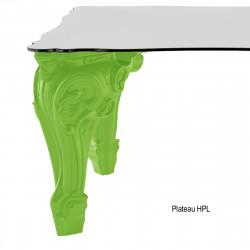 Table Sir of Love, Design of Love by Slide vert Longueur 260 cm