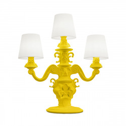 Lampadaire King of Love, Design of Love by Slide jaune