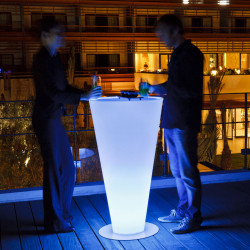 Mange-debout lumineux, Up LED RGB, sans fil, Smart and Green lumineux