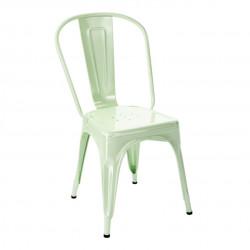Chaise A Brillant, Tolix vert anisé