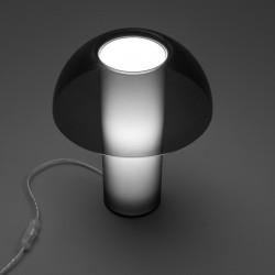Lampe de table Colette, Pedrali fumé transparent Taille L