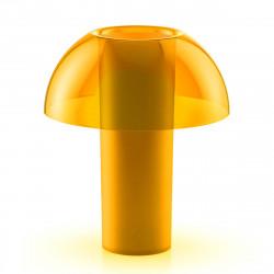 Lampe de table Colette, Pedrali jaune transparent Taille L