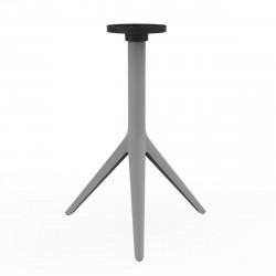 Pied de table Mari-Sol, H 73 cm pour petits plateaux, Vondom acier Fixe, H73 cm