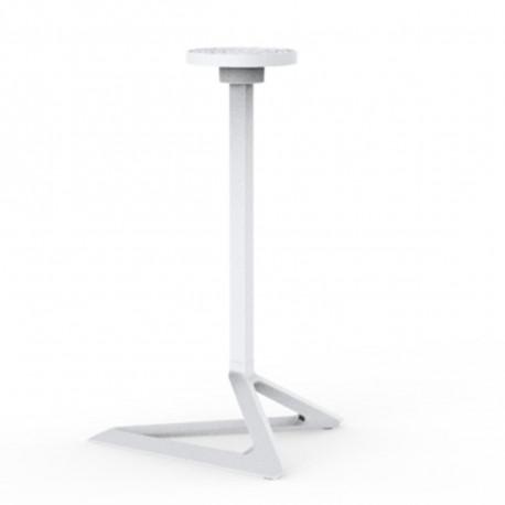 Pied de table Delta, Vondom blanc Fixe, H73 cm