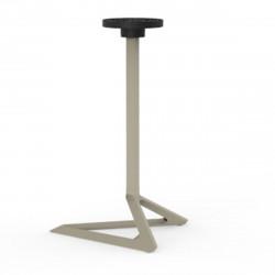 Pied de table Delta, Vondom ecru Fixe, H105 cm