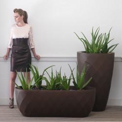 Jardinière Vases, Vondom bronze