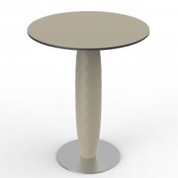Table ronde Vases, Vondom ecru Diamètre 70 cm