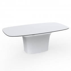 Table Ufo, Vondom blanc Longueur 200 cm