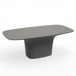 Table Ufo, Vondom taupe Longueur 200 cm