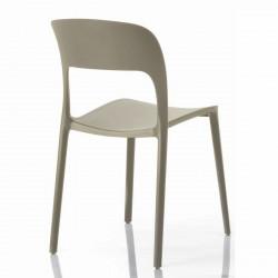 Chaise gipsy sans accoudoirs sable