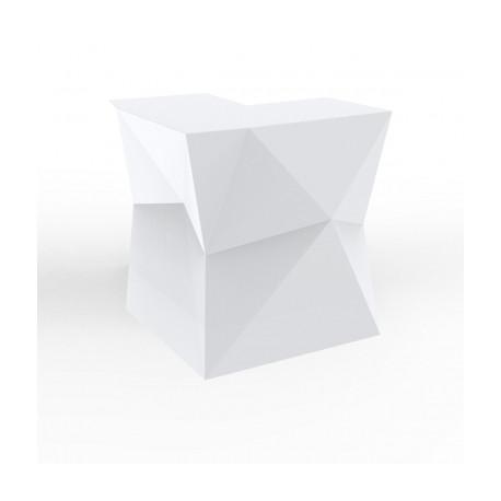 Banque d'accueil Origami, module d'angle, Proselec blanc Mat