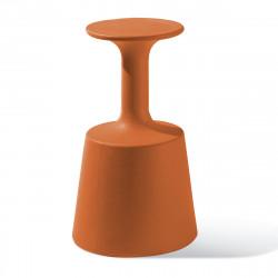 Tabouret de Bar Drink, Slide Design Orange