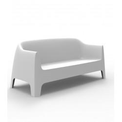 Canapé Solid sofa, Vondom, blanc