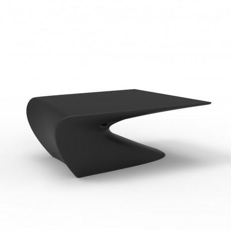 Table basse design Wing, Vondom Noir Mat