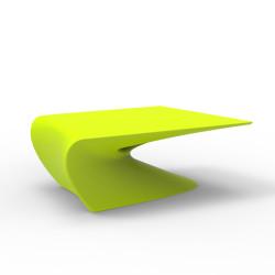 Table basse design Wing, Vondom Pistache Mat