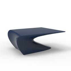 Table basse design Wing, Vondom Bleu Mat