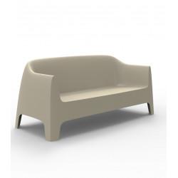 Canapé Solid sofa, Vondom Ecru