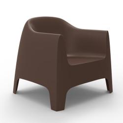 Fauteuil Lounge Solid, Vondom bronze