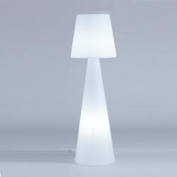 Lampadaire Pivot Intérieur hauteur 2,1 m, Slide Design blanc
