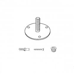 Kit de fixation au sol diamètre 10cm, pour Porte-manteau Godot