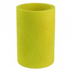 Pot Cilindro Alto simple paroi, Vondom, vert pistache, Diamètre 50 x Hauteur 75 cm