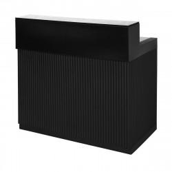 Bar Cordiale noir, module droit, Slide Design, L120 x P70 x H110 cm