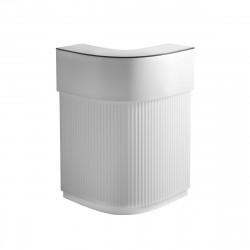 Bar Cordiale Corner blanc, module d\'angle, Slide Design, L70 x P70 x H110 cm