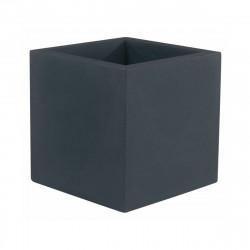 Pot Cube 50x50x50 cm, simple paroi, Vondom anthracite
