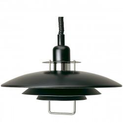 Suspension Primus II diamètre 43cm, Belid, Noir et Chrome