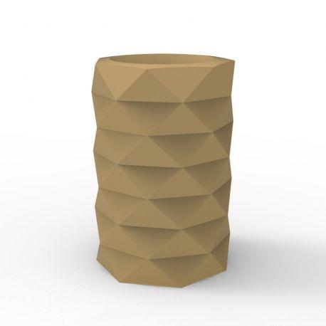 Pot de Jardin Marquis diamètre 40 cm x hauteur 60 cm, Vondom Beige Mat