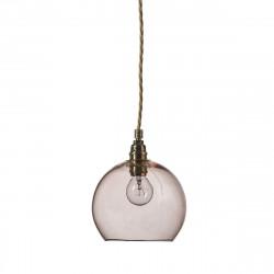 Suspension Rowan corail diamètre 15,5 cm, Ebb & Flow, douille et câble dorés