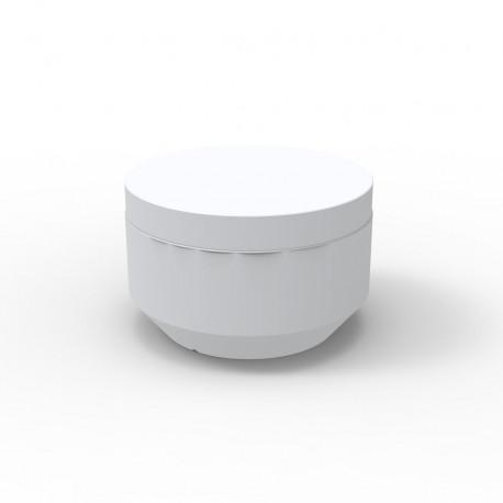 Pouf rond Vela Chill diamètre 60cm, Vondom blanc