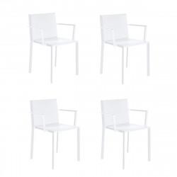 Lot de 4 fauteuils Quartz, Vondom blanc
