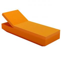 Chaise longue design Vela, Vondom Orange