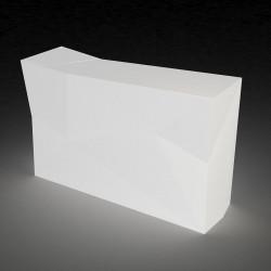 Bar central avec seau à glace Faz, Vondom Lumineux Led blanc