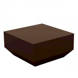Table basse Vela Chill 60x60xH30cm, Vondom, bronze