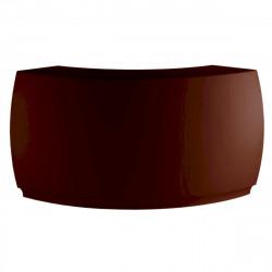 Bar Design Fiesta, module courbe 160x160xH115cm, Vondom, Bronze