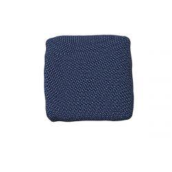 Coussin extérieur déperlant Suave, 50x50cm, Vondom, bleu Outre-Mer 1002