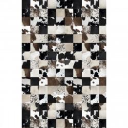 Tapis vinyle mosaïque rectangulaire, 139x198cm, collection Baba Souk, Pôdevache