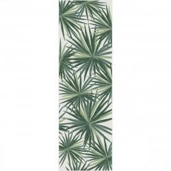 Tapis vinyle Feuilles de Palmier rectangulaire, 95x300cm, collection Tropicalisme, Pôdevache