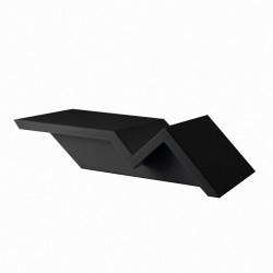 Table basse design Rest Tumbona, Vondom noir