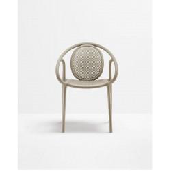Lot de 4 fauteuils Remind 3735, Pedrali, sable