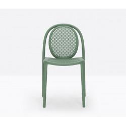 Lot de 4 chaises Remind 3730, Pedrali, vert
